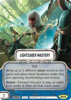 SW Destiny - Lightsaber Mastery