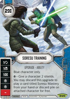 SW Destiny - Soresu Training