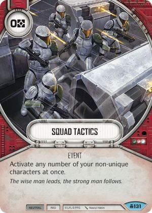 SW Destiny - Squad Tactics
