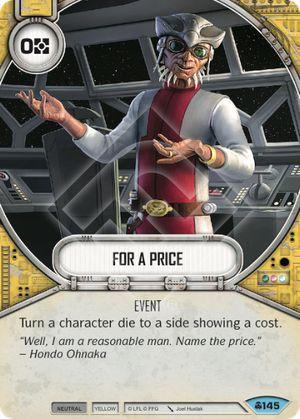SW Destiny - For a Price