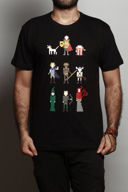 Camiseta Caverna do Dragão