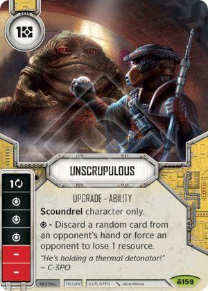 SW Destiny - Unscrupulous