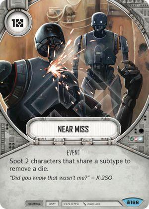 SW Destiny - Near Miss