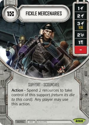 SW Destiny - Fickle Mercenaries