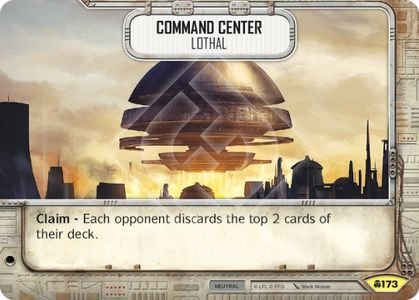 SW Destiny - Command Center Lothal