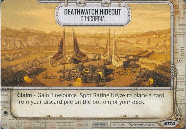 SW Destiny - Deathwatch Hideout Concordia