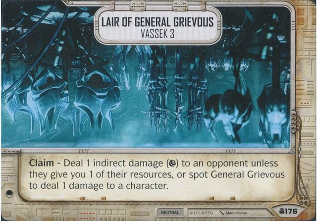SW Destiny - Lair of General Grievous Vassek 3