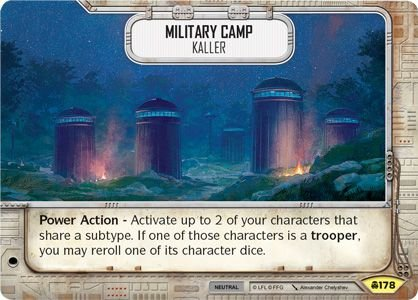 SW Destiny - Military Camp Kaller