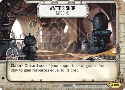 SW Destiny - Watto's Shop Tatooine