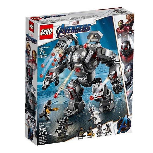 Lego Marvel - Hulkbuster Do Máquina De Combate 76124