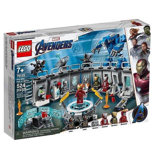 Lego Marvel - Homem De Ferro: Salão De Armaduras 76125