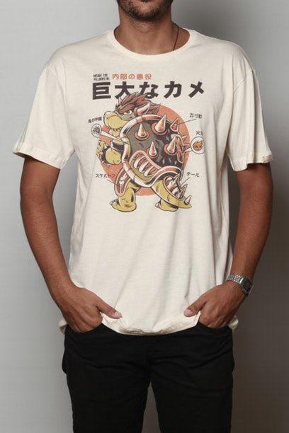 Camiseta Bowserzilla