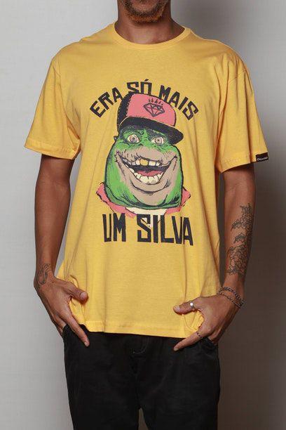 Camiseta Rap Do Silva Sauro