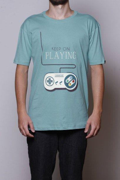 Camiseta Keep On Playing