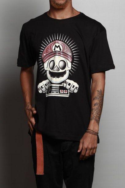 Camiseta Mario Ocho Bits