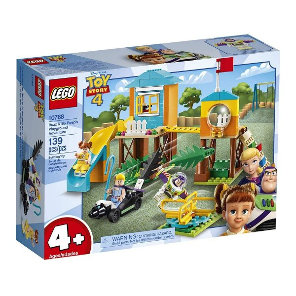 Lego Toy Story 4 - Aventura No Recreio Do Buzz E Betty 10768