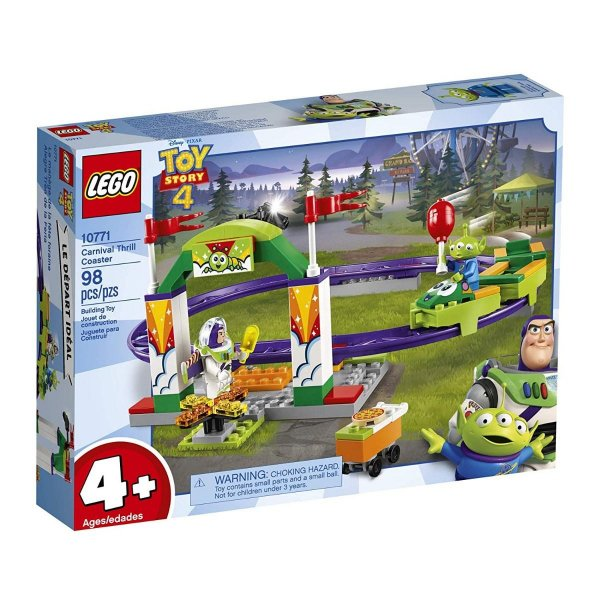 Lego Toy Story 4 - Montanha Russa De Emoções 10771