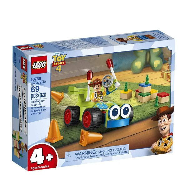 Lego Toy Story 4 - Woody E Rc 10766