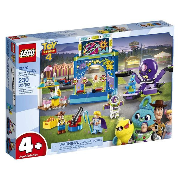 Lego Toy Story 4 - Carnaval Do Woody E Buzz 10770
