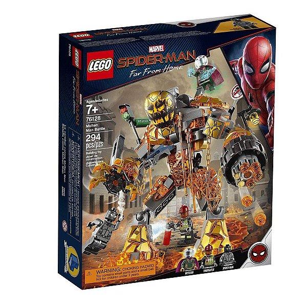 Lego Marvel - Batalha Contra O Monstro De Fogo 76128