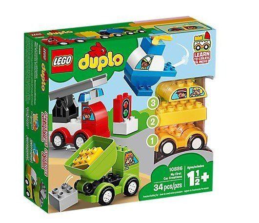 Lego Duplo - Minhas Primeiras Criações De Carros 10886
