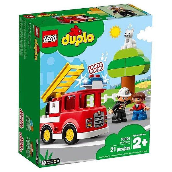 Lego Duplo - Caminhão De Bombeiros 10901