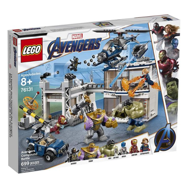 LEGO Marvel Super Heroes Base dos Vingadores 76131
