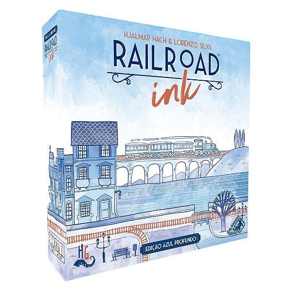 Jogo Railroad Ink Edição Azul Profundo