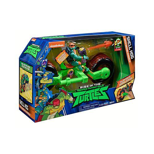 Tartarugas Ninja Boneco Com Veiculo Michelangelo