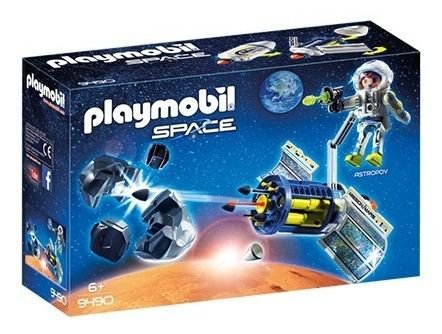 Playmobil 9490 - Satélite Destruidor De Meteoros