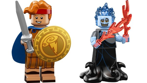 Lego Minifigures 71024 - Hades e Hercules