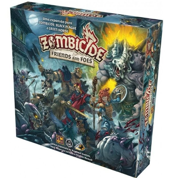 Jogo Zombicide Green Horde Friends And Foes