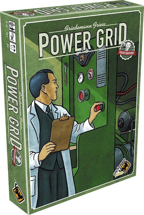 Jogo Power Grid Versão Energizada