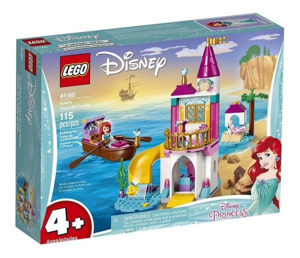 Lego Disney Princess - O Castelo À Beira-mar Da Ariel 41160