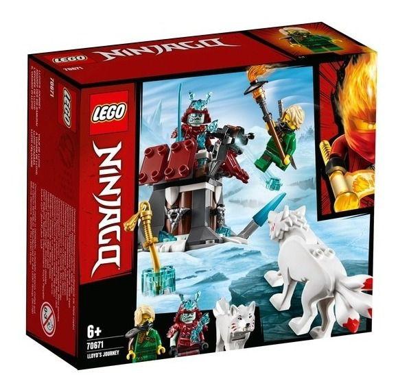 Lego Ninjago - A Viagem De Lloyd 70671