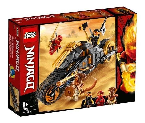 Lego Ninjago - A Mota Off-road De Cole 70672