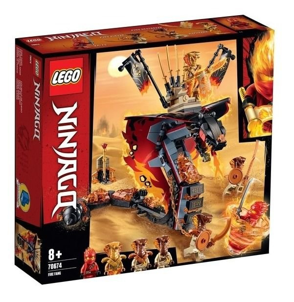 Lego Ninjago - Dente De Fogo 70674
