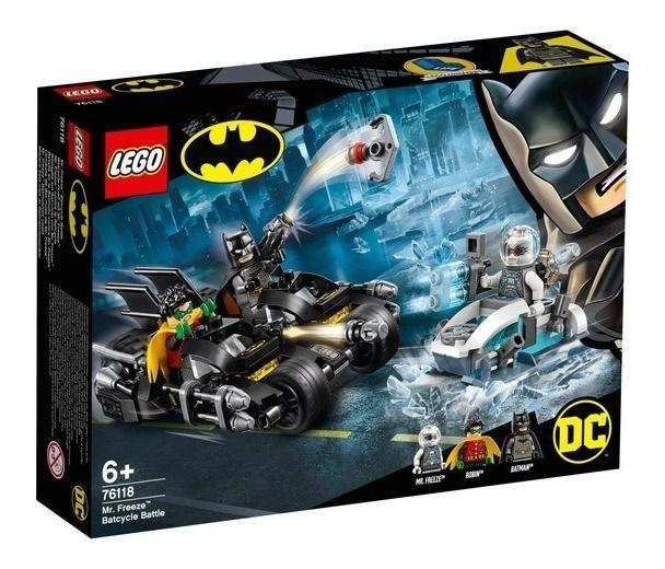 Lego Super Heroes Dc Combate De Bat-moto De Mr Freeze 76118