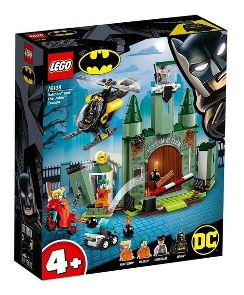 Lego Super Heroes Dc - Batman E A Fuga Do Joker 76138