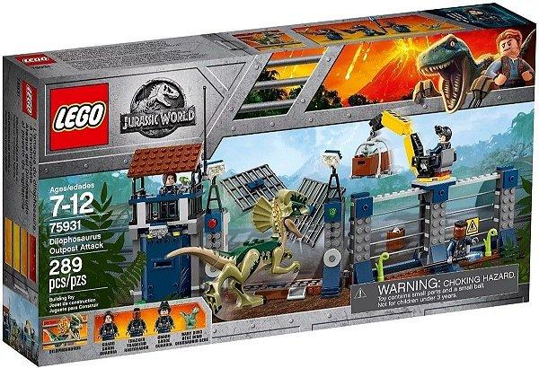 Lego Jurassic World - Ataque De Dilofossauro 75931