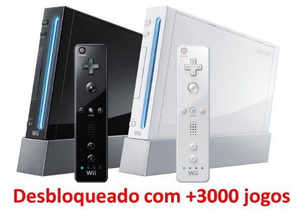 Console Nintendo Wii Desbloqueado