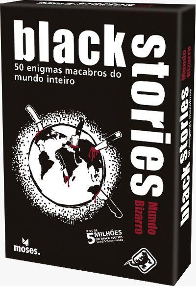 Jogo Black Stories Mundo Bizarro