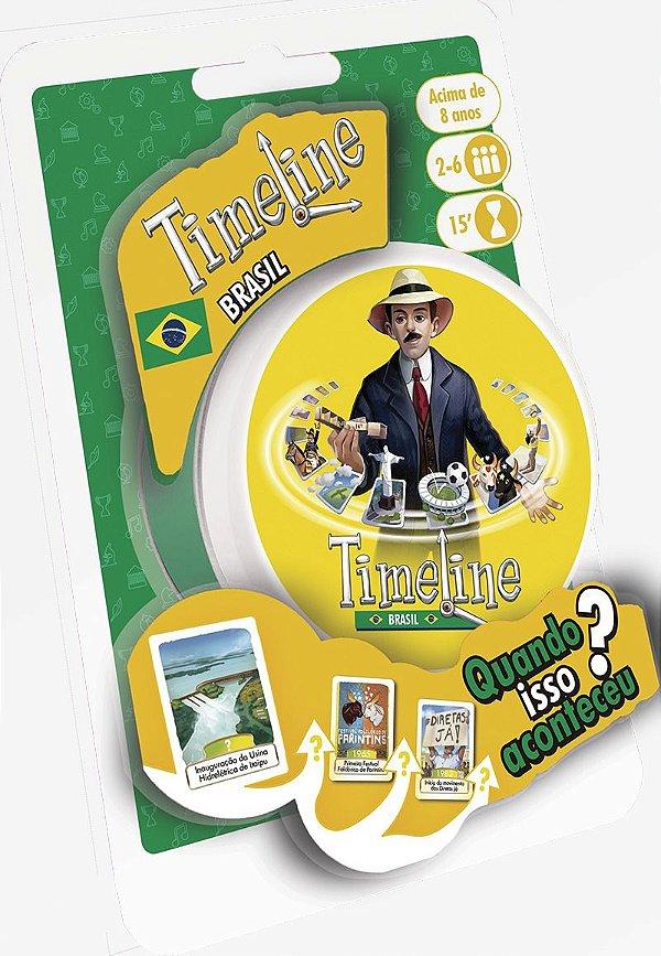Jogo Timeline Brasil (blister)