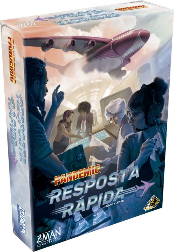 Jogo Pandemic - Resposta Rápida