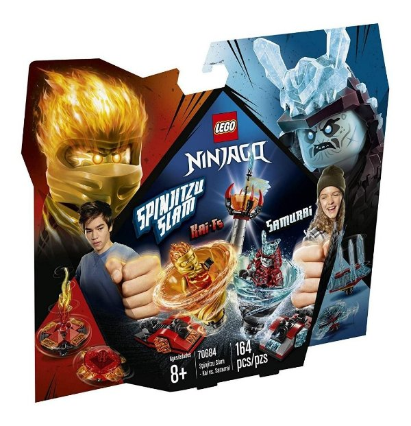 Lego Ninjago - Lançador Spinjitzu: Kai Vs Sam 70684