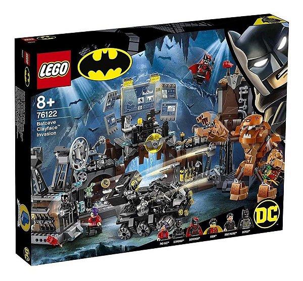 Lego Dc - Batcaverna Invasão Do Cara De Barro 76122