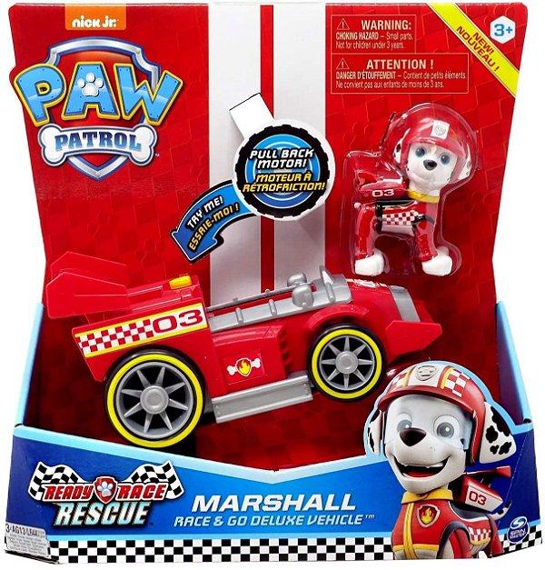 Patrulha Canina Veiculo Ready Race Rescue Com Som Marshall