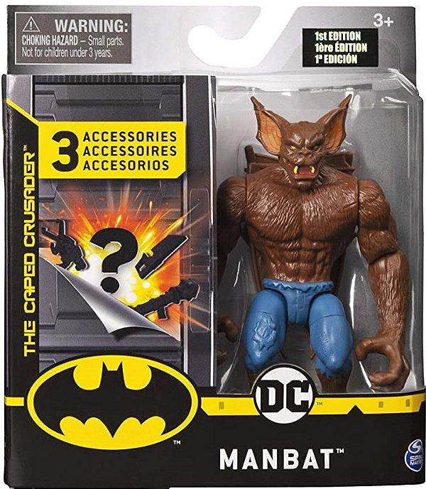Boneco Articulado Dc Comics 10 Cm Man-Bat