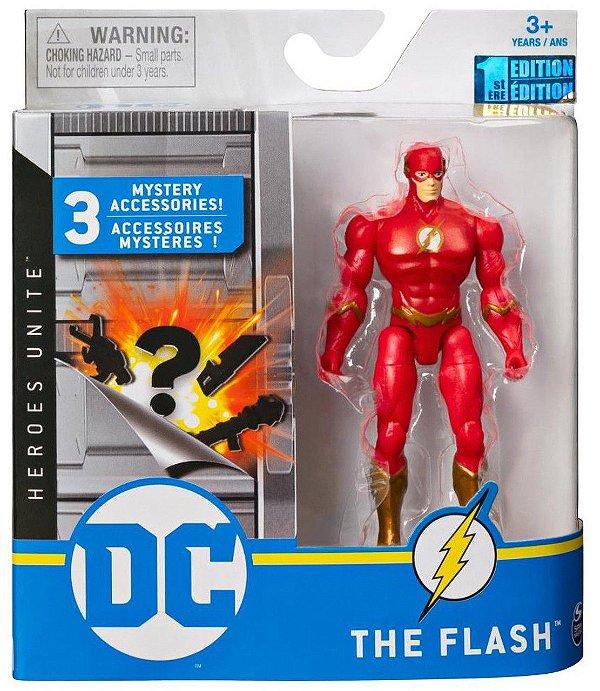 Boneco Articulado Dc Comics 10 Cm Flash