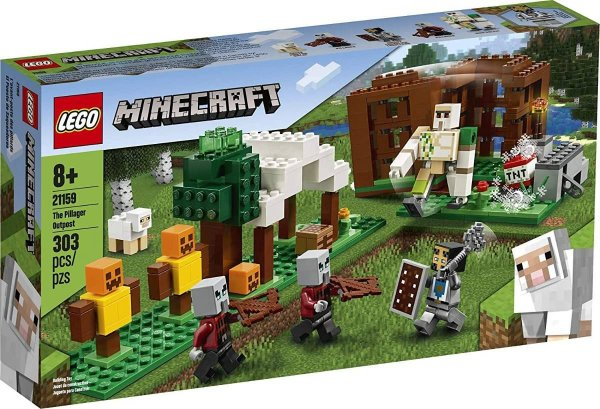 Lego Minecraft - The Pillager Outpost 21159
